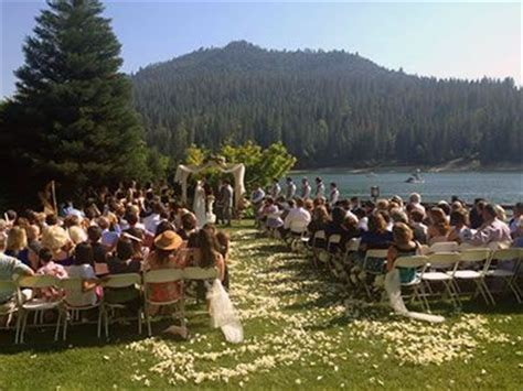 wedding venues in central california pines resort on bass lake central california weddings national forest wedding venues