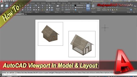 create layout viewport autocad autocad how to create viewport in model and layout youtube