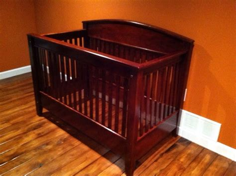 Custom Made Crib by Crafted 3 In 1 Crib Toddler Bed Size Bed By