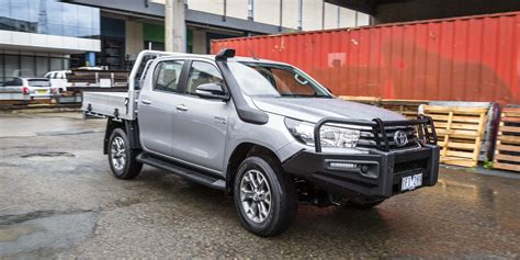 toyota 4x4 2016 toyota hilux sr 4x4 cab chassis review caradvice