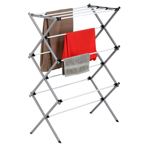 Wall Mounted Fold Drying Rack by Home Decorators Collection 46 In W Fold Wall