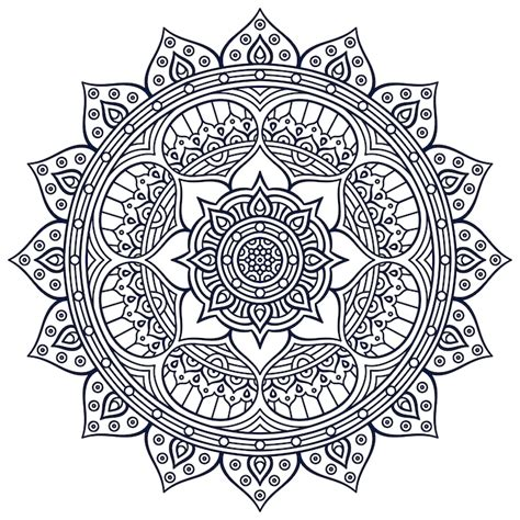 mandala design with meaning lotus mandala