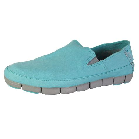 crocs womens loafers crocs womens stretch sole slip on loafer shoes ebay