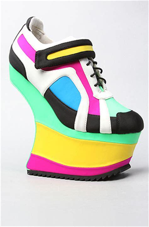wedge sneakers high heels daily