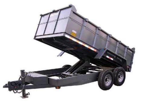 dump bed trailer trailer dump bed trailers 8 000 12 000lb rentals idaho