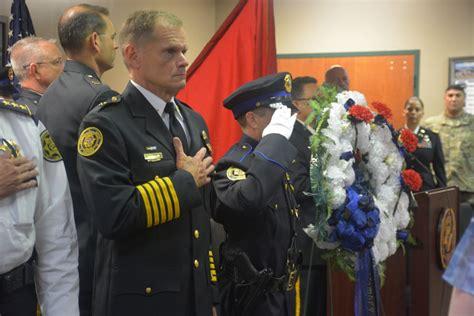 Enforcement Officers Memorial High School by Enforcement Memorial Ceremony In Clarksville