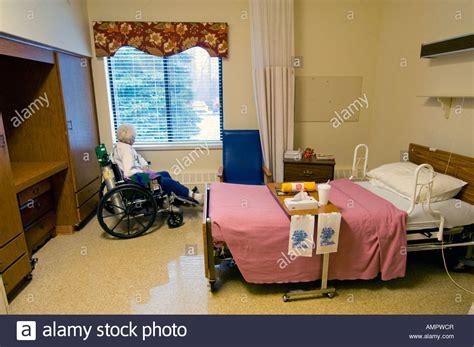 Seven Nursing Home by Handicapped Senior Citizen In A Nursing Home