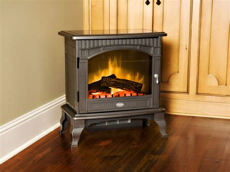 Electric Wood Stove Fireplace by Dimplex Lincoln Pewter Freestanding Electric Stove Ds5629gp