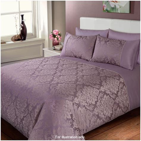 King Size Bed Sets Uk Jacquard Damask Duvet Set Bedding Duvet Sets