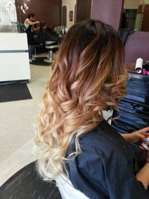 Strawberry Ombr 233 Hair Color My Hair Balayage And Balayage Ombr Starting With My Roots Brown To To Strawberry Check Out This