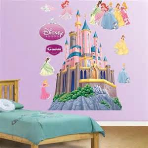 Princess Castle Wall Stickers fathead disney princesses castle wall sticker wall sticker outlet