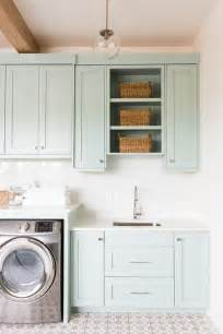 Laundry Room Storage Cabinet Laundry Room Makeover Ideas Centsational