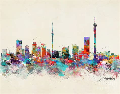 paint nite cape town johannesburg south africa skyline painting by bri b
