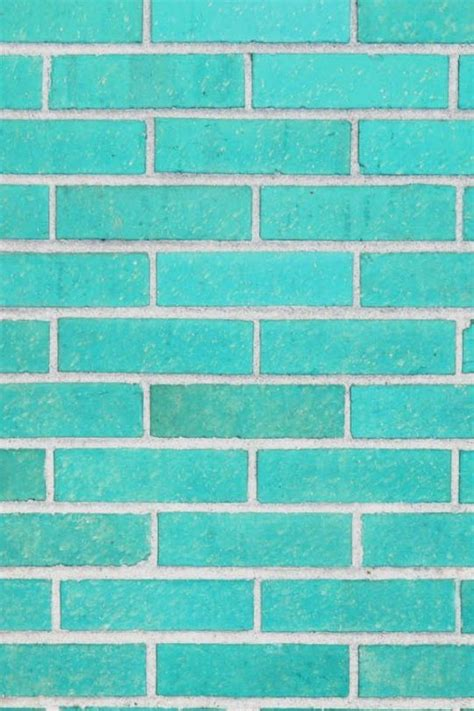 wallpaper blue turquoise gorgeous aqua turquoise blue brick wall iphone wallpaper