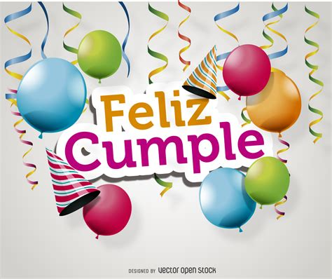 imagenes de cumpleaños videos feliz cumple card vector download