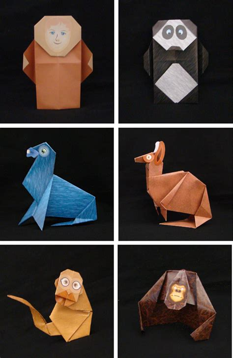 Origami Zoo - origami zoo kit by j