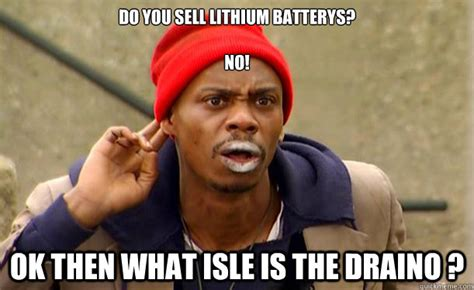 do you sell lithium batterys no ok then what isle is the