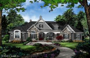 Luxury Ranch House Plans For Entertaining home plan the chaucer by donald a gardner architects