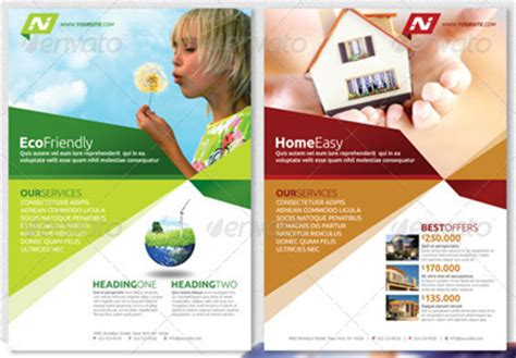 ad templates free 15 real estate flyer templates for marketing caigns