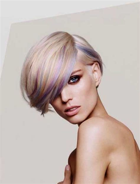 short hairstyles color streaks short hairstyles with color streaks the best short