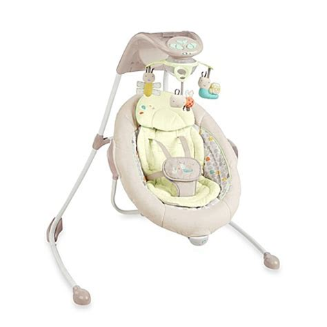 baby swing ingenuity buy ingenuity inlighten cradling swing in seneca from