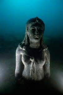 City of heracleion found at the bottom of the mediterranean sea
