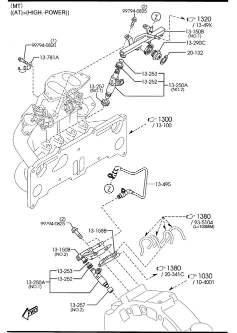 mazda car engine diagram and wiring diagram