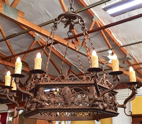 Mexican Wrought Iron Chandelier Homeofficedecoration Wrought Iron Chandeliers From Mexico
