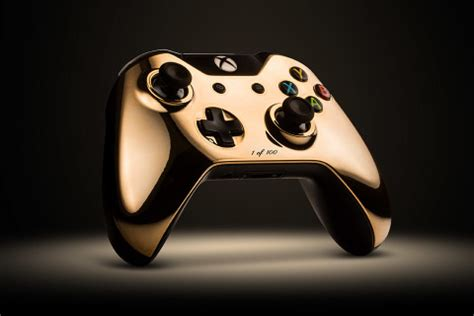 colorware introduces   rose gold xbox  controller