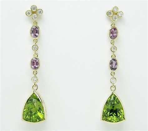 jewelry ideas earrings peridot pendant earrings exclusive jewelry designs