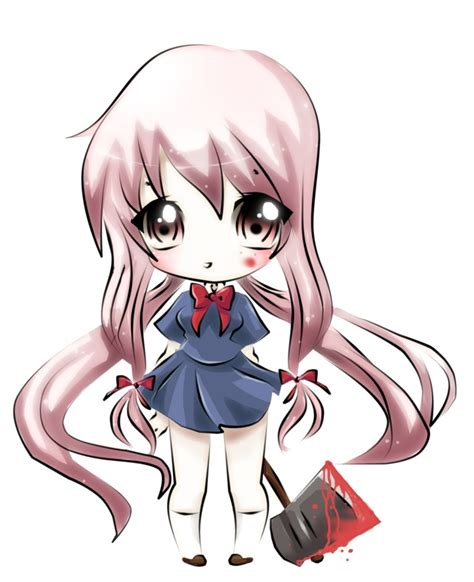 imagenes de yuno gasai kawaii lizbless una chibi yuno para imagen razorz en