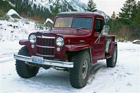 jeep pickup 90s before toyota 4wds from the 80s and 90s were popular
