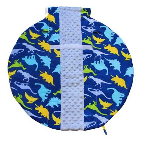 Itzy Ritzy Infant Carseat Handle Cushion Dino Mite itzy ritzy wrap and roll infant carrier arm pad and tummy mat dino mite baby toddler baby