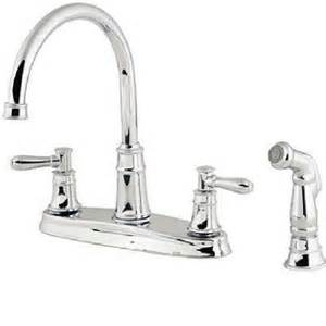 Kitchen Faucets Home Depot Harbor Double Handle Kitchen Faucet With Spray In Chrome