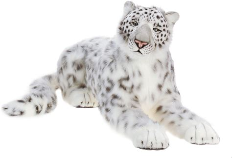 Unique Large Wall Clocks by 50 Quot Life Size Snow Leopard Stuffed Animal