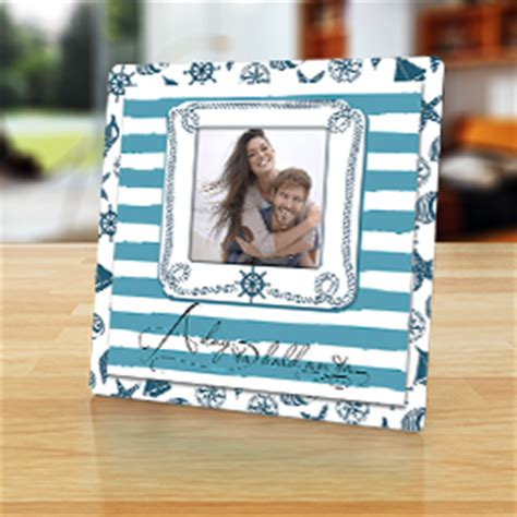 themed picture frames nautical photo frames personalized and coastal