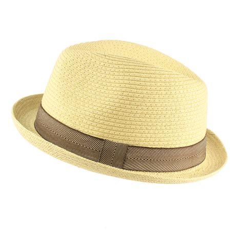s cool summer straw derby fedora upturn curl up brim