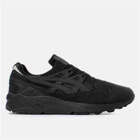 all black asics shoes