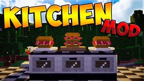 Kitchen Mod For Minecraft Pc Minecraft Mods Kitchen Mod Sandwiches Ovens Knifes