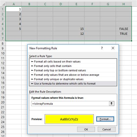 excel format using formula excel using conditional formatting to highlight cells