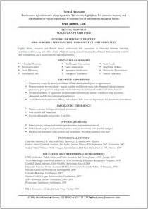 Resume Objective For Dental Assistant by Dental Assistant Resume Objective Ilivearticles Info