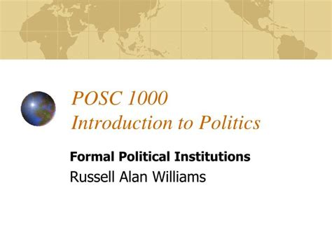 introduction to politics ppt posc 1000 introduction to politics powerpoint presentation id 4347006
