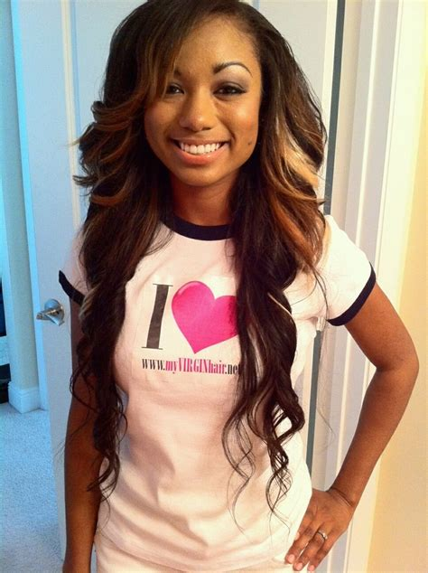 hairstyles for patial sew ins 125 best sew in styles to wear images on pinterest