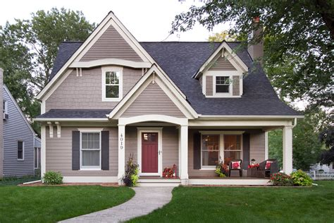Brick Colonial House James Hardie Siding Colors Entry Traditional With Beige