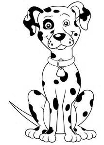 dalmatian dog coloring page coloring pages of dalmatian dogs