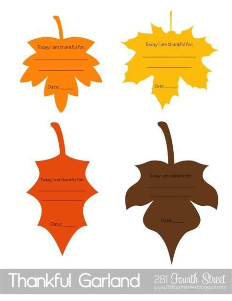 printable leaves for thanksgiving pin by sherbie on counseling lessons pinterest