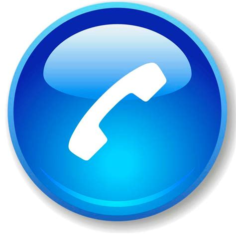 phone icon blue phone icon clipart best