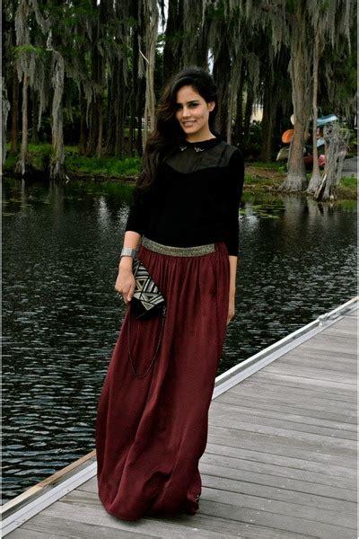 crimson zara skirts black kookai sweaters quot maxi skirt