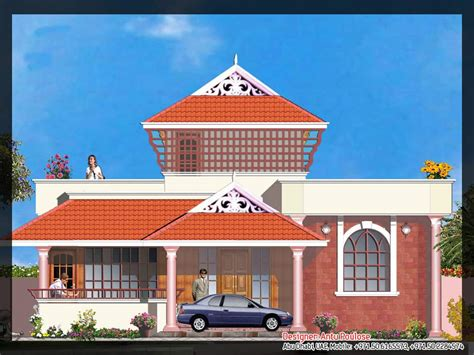 elevation of house plan traditional kerala house plan and elevation 2165 sq ft