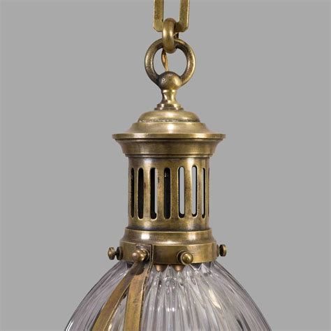 Circa Lighting Pendant Bronze Holophane Pendant Light Circa 1900 At 1stdibs